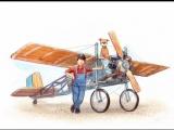 Mulle Meck bygger ett flygplan