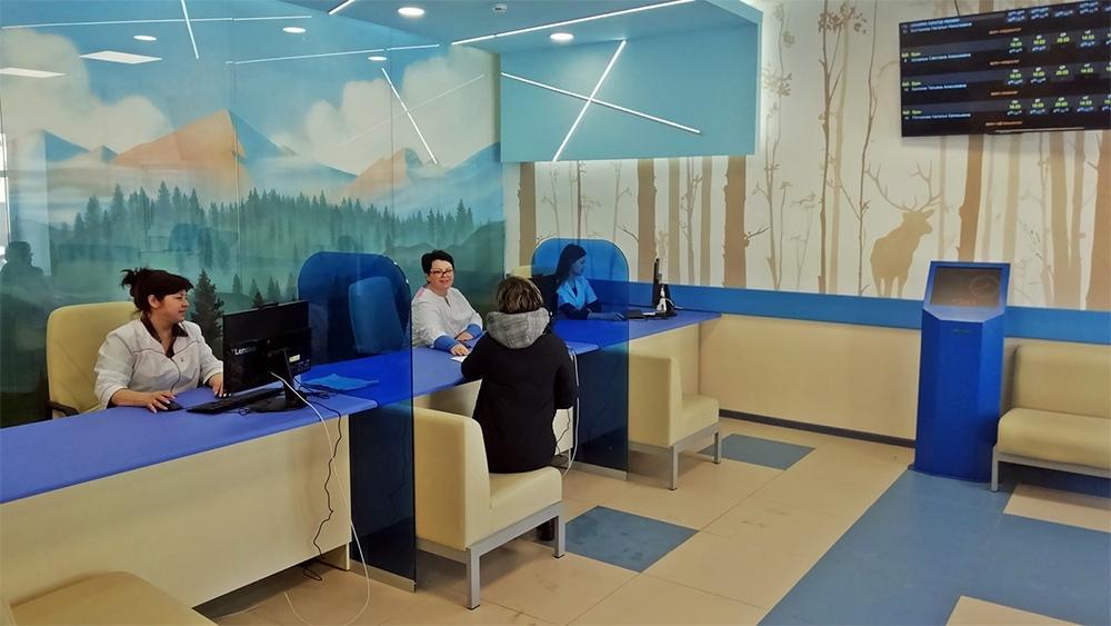 В Судогодской ЦРБ закончили внутренний ремонт взрослой поликлиники.