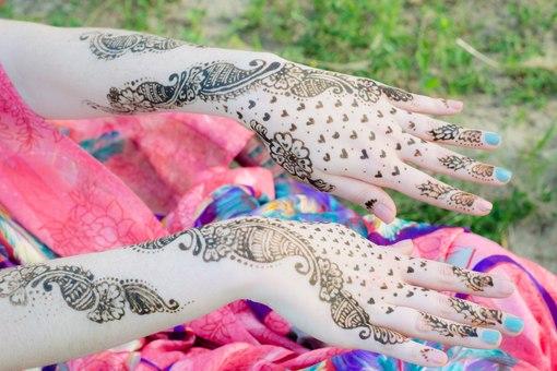 Арабский макияж со спецэффектами