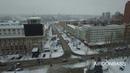 Зимний центр Донецка с высоты