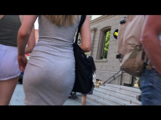 WOW | SUPER SEXY GIRL ASS IN TIGHT DRESS | ШИКАРНАЯ ПОПКА В ПЛАТЬЕ| OVERSEE | PHOTOHUNTER | ОБТЯГИВАЮЩЕЕ ПЛАТЬЕ | СУПЕР ЗАДНИЦА