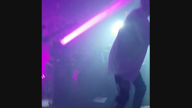 Chase Atlantic's performance in Glasgow 06/12/18
