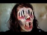 Очень страшный макияж на Хэллоуин 2013