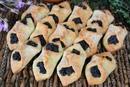 Творожное печенье с маком