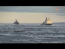 Корабли двух военных флотов России впервые встретились на Севморпути