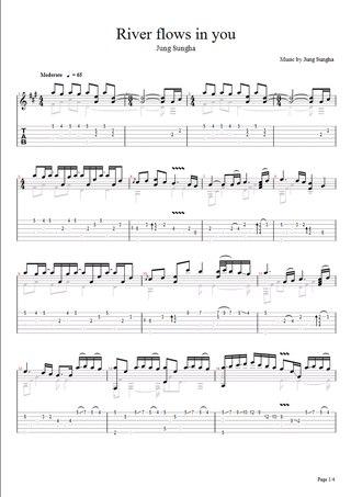 Moon river ukulele tabs