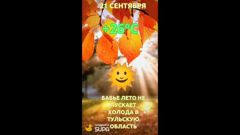 Погода на 21.09.18