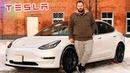 Распаковка Tesla Model 3 как iPhone только машина