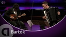 Bartók Romanian Folk Dances for mandolin and accordion Avi Avital and Martynas Levickis HD