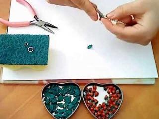 Сборка браслета (брелка) на цепочку из полимерной глины (пластики) - 003