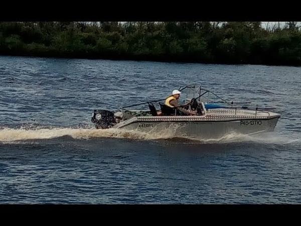 Самодельная лодка из алюминия - морские сани Фокса - лодка своими руками