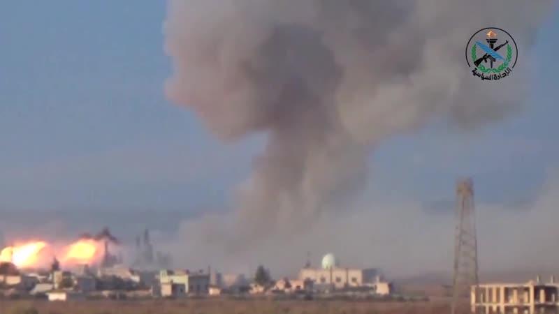 Али аль-Аттар - Удар и ветер ревёт (видеоклип Минобороны САР)