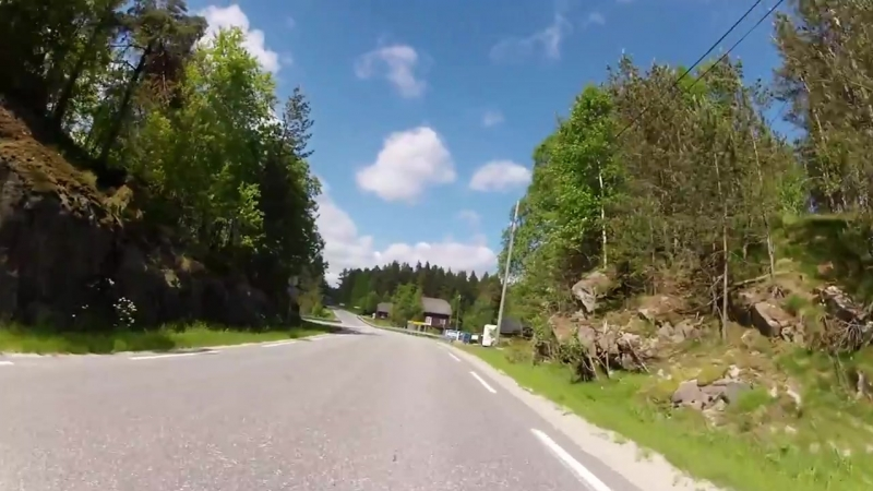 James Intveld A Sinners Prayer GoPro ride in the southern Norway on my Harley