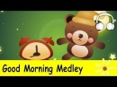 Muffin Songs - Good Morning Medley | Are You Sleeping, Hello Song, Good Morning, This Is The Way