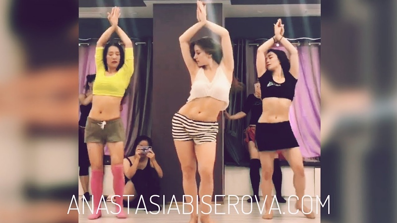 Anastasia Biserova انستازيا tabla solo work shop in China l BELLY DANCE