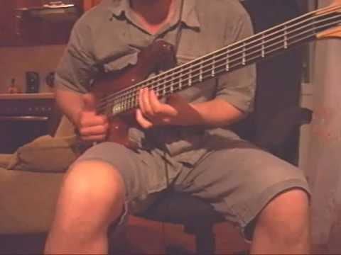 Упражнение на бас гитаре - Слэп - Slap Bass Lesson