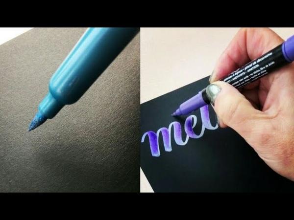 The best calligraphy lettering and drawing with watercolor лучше каллиграфия леттеринг и рисования