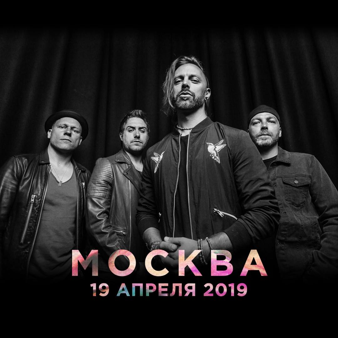 Афиша Москва Bullet For My Valentine [Москва, 2019]