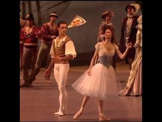 Балерина и пицца :)