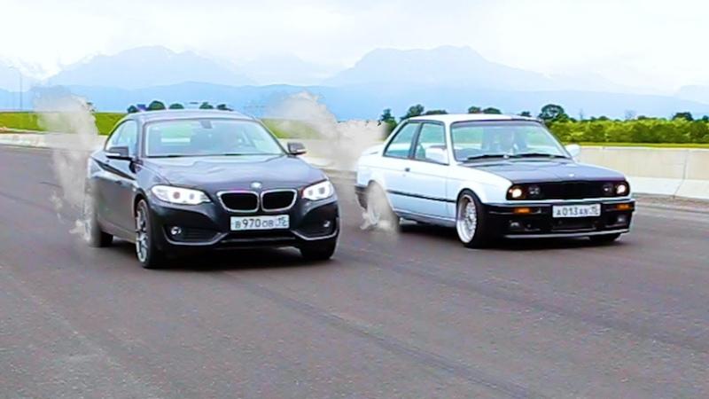Козырная Двойка BMW против BMW Е30 с мотором от М3 3 0 S50