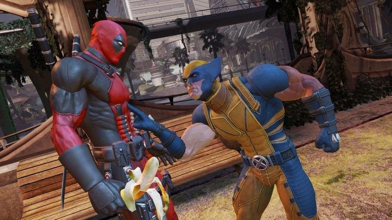 Dreadwing Клип на игру Deadpool про ДЭДПУЛА