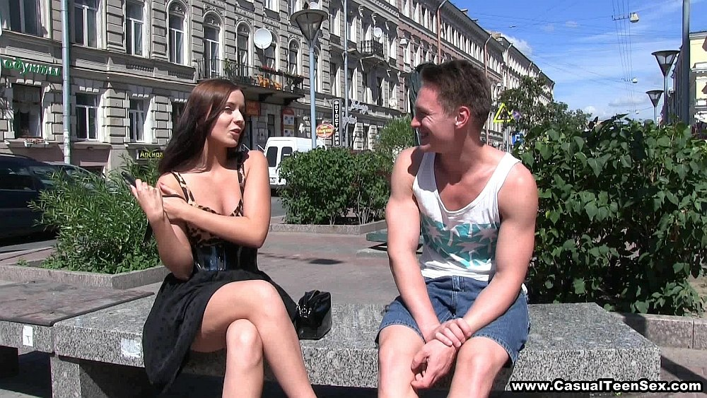 CasualTeenSex - Summertime sex hookup