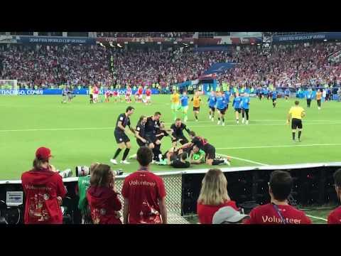 Чемпионат мира 2018. Россия - Хорватия