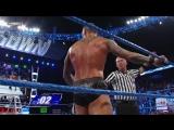 Randy Orton powerbombs Dolph Ziggler through a table SmackDown, Dec. 9, 2011