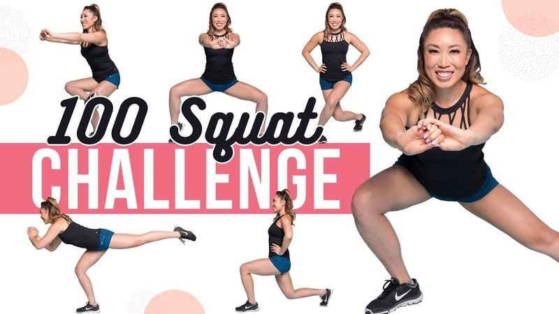 What if we did 100 squats everyday for 30 days?