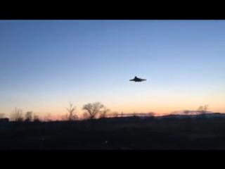 Экстремально низкий полет и падение Су-37 в Чите