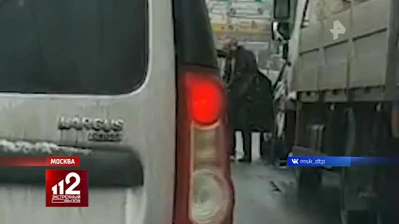 В Москве арестовали автолюбителя, проломившего череп водителю эвакуатора