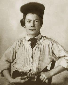 Портрет 15-ти летнего Марка Твена (тогда еще Сэм Клеменс), 1850 г.