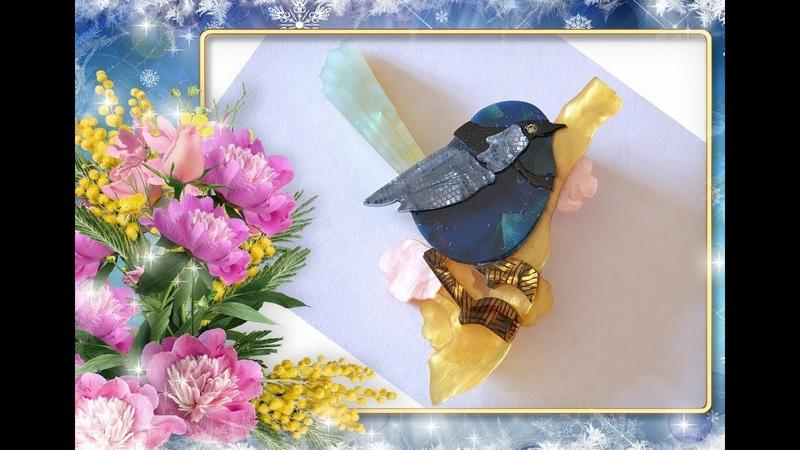✅🌸 Брошь птичка из акрила с Алиэкспресс 🌸 AliExpress 🌸 Jewelry from China