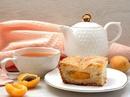 Простой домашний пирог с абрикосами