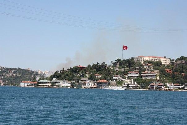 Стамбул, пожар.