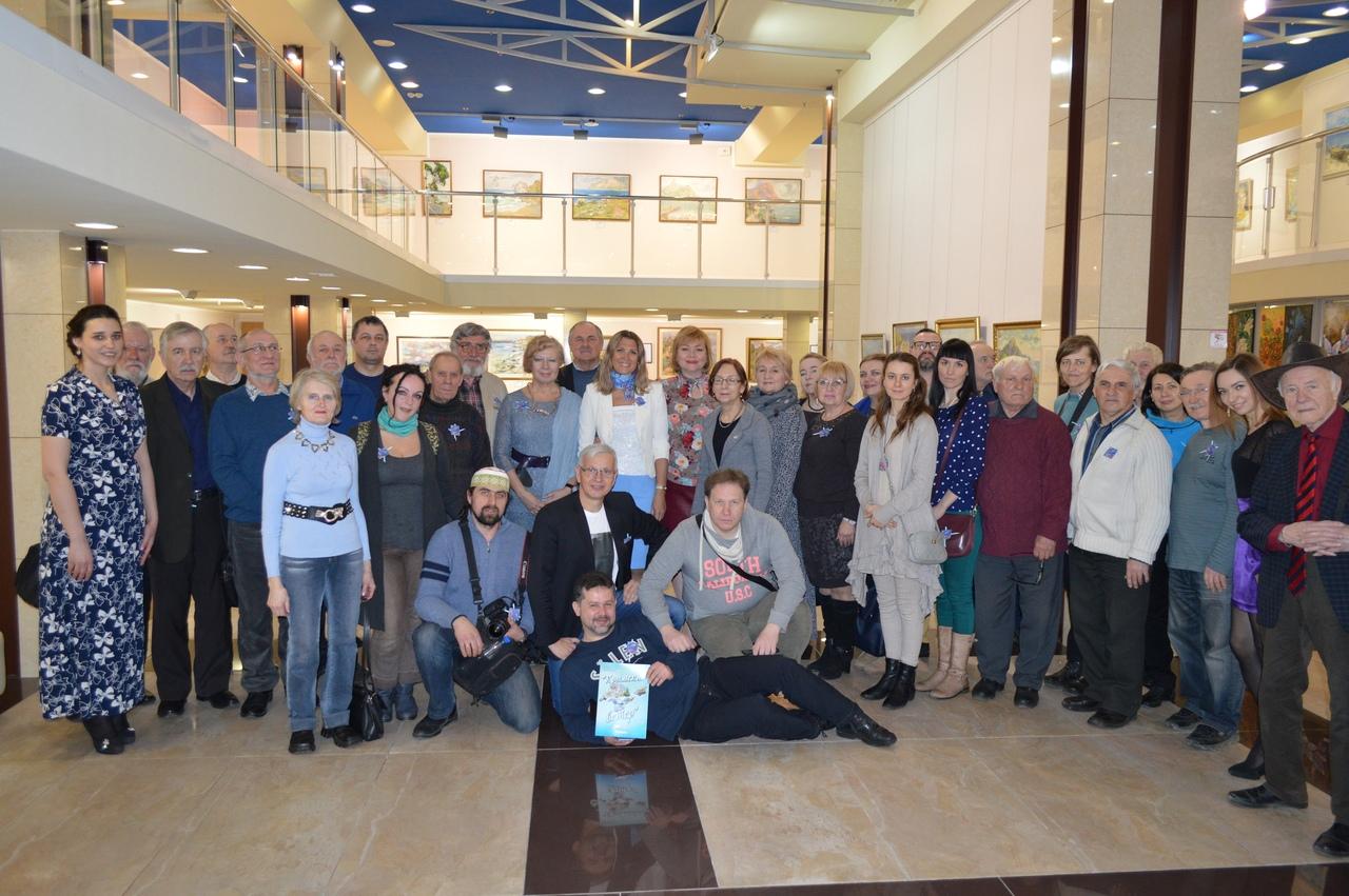 В Художественном музее «Арт-Донбасс» открылась тематическая выставка «Крымский ветер»
