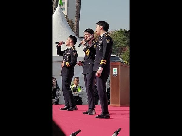 181103 경홍단 신분으로 서는 마지막 공연 김준수 시아준수 XIA ジュンス