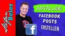 Auffällige Facebook Beiträge selbst erstellen