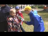Чистая энергия детских улыбок- праздник лета в парке Саратовской ГЭС