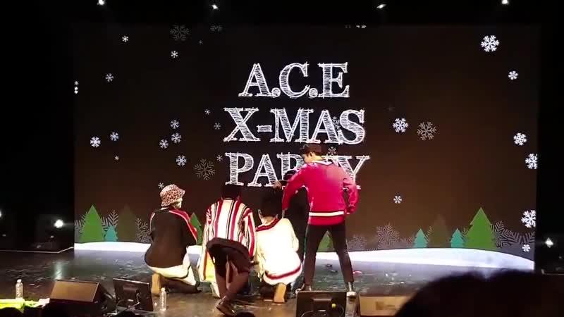 FANCAM | 24.12.18 | A.C.E (Phototime) @ X-MAS PARTY