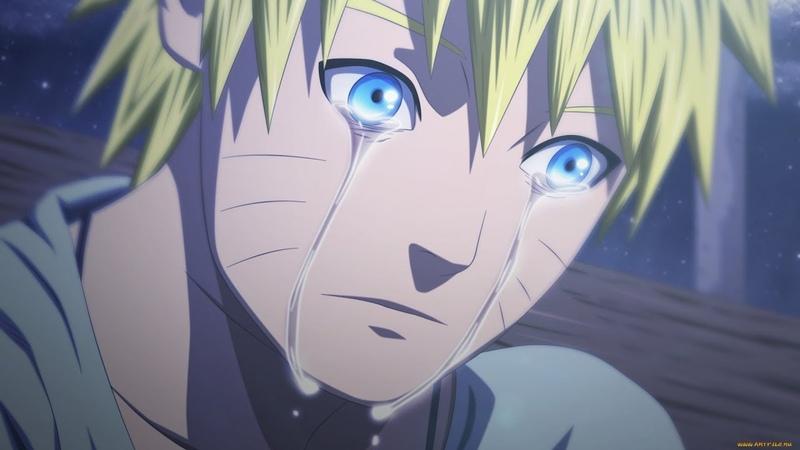 Наруто узнаёт о смерти Джирайи