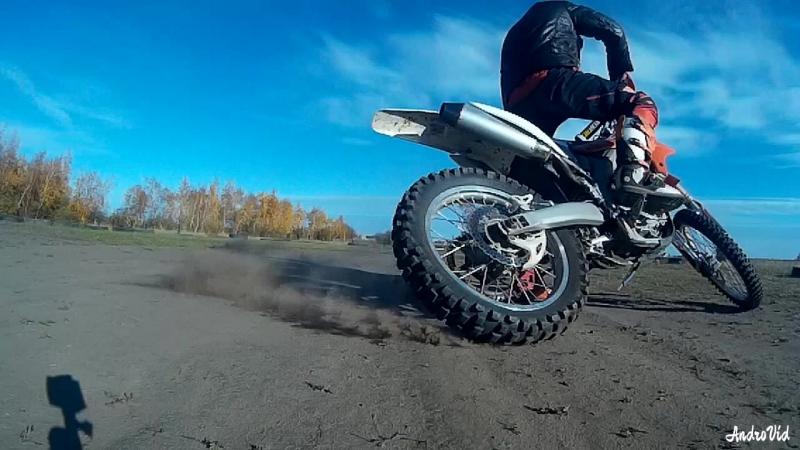 Пробую новые ракурсы, штаны спадают чутка)) dirtbike ride trening