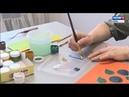 Вятская кистевая и сундучная роспись в Музее дымковской игрушкиГТРК Вятка
