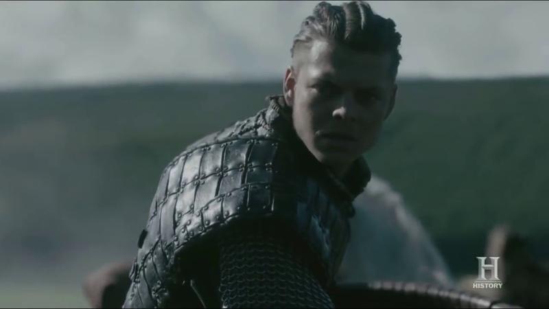 Vikings - Ivar Attacks Lagertha - Vikings Civil War [Season 5 Official Scene] (5x08) [HD] PART 3