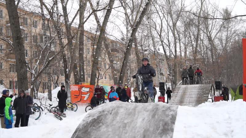 Казань. Контест Winter velo snow fanking games