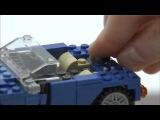 2012 LEGO Creator Blue Roadster 藍色敞篷車