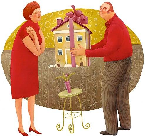 договор дарения квартиры ворд