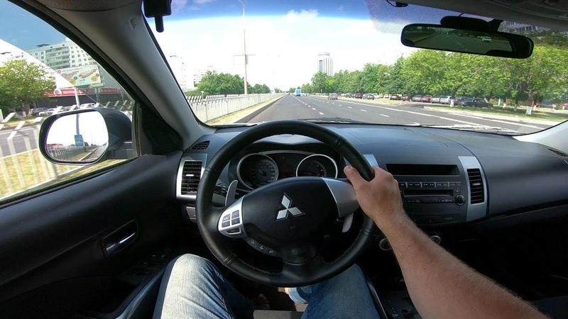 2007 Mitsubishi Outlander 2.4L POV Test Drive