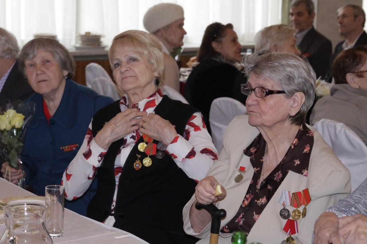 В библиотеке на Башиловской встретились ветераны