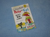 Pete The Cat ~ Pete's Big Lunch Children's Read Aloud Story Book For Kids By James Dean